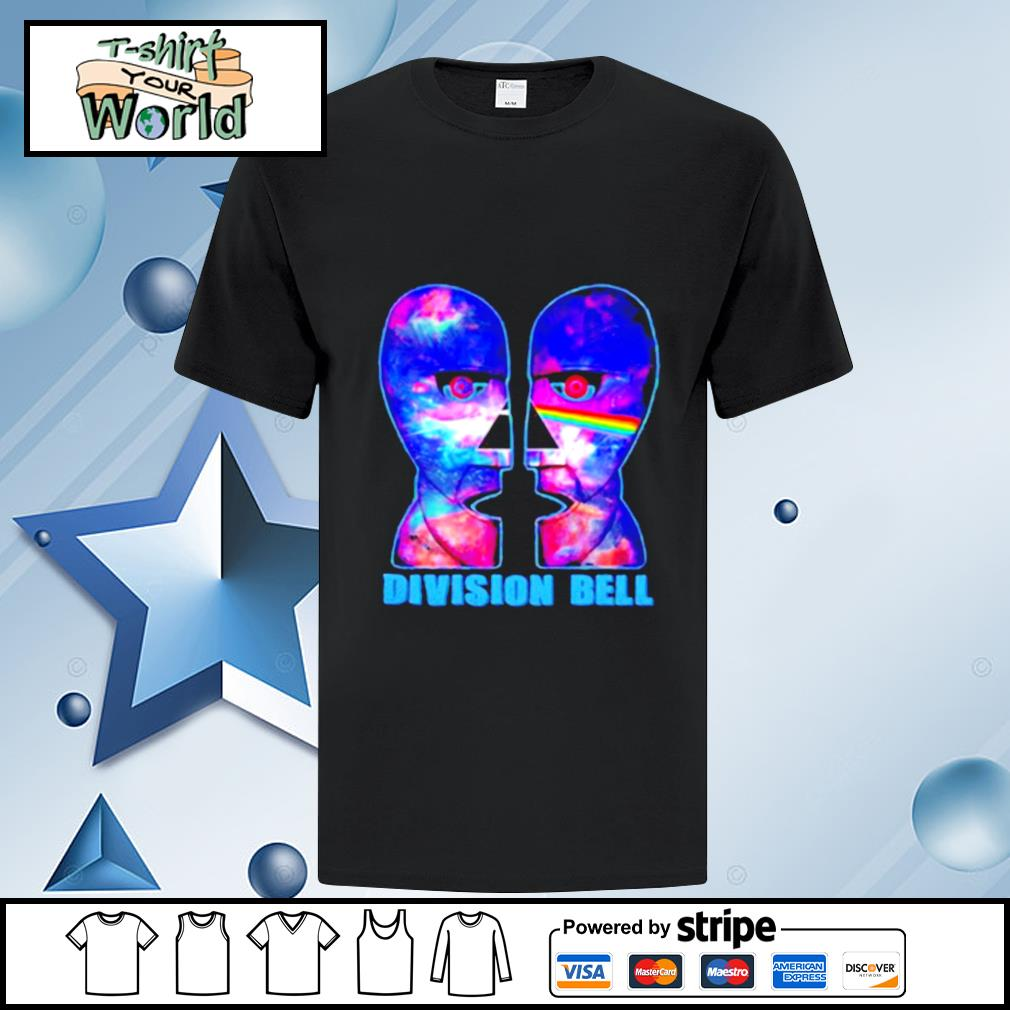 Pink floyd band division bell shirt