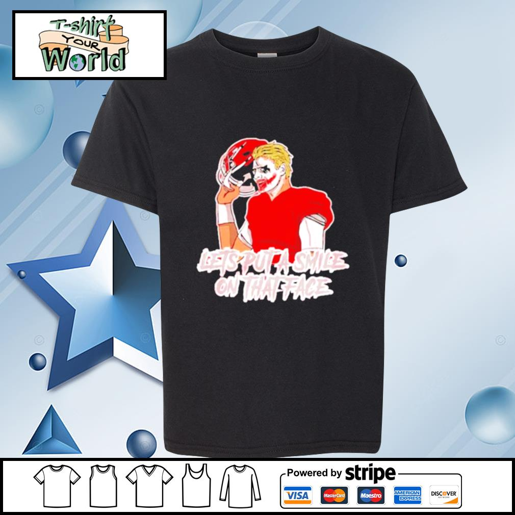 Put A Smile On That Face Joker s youth-tee