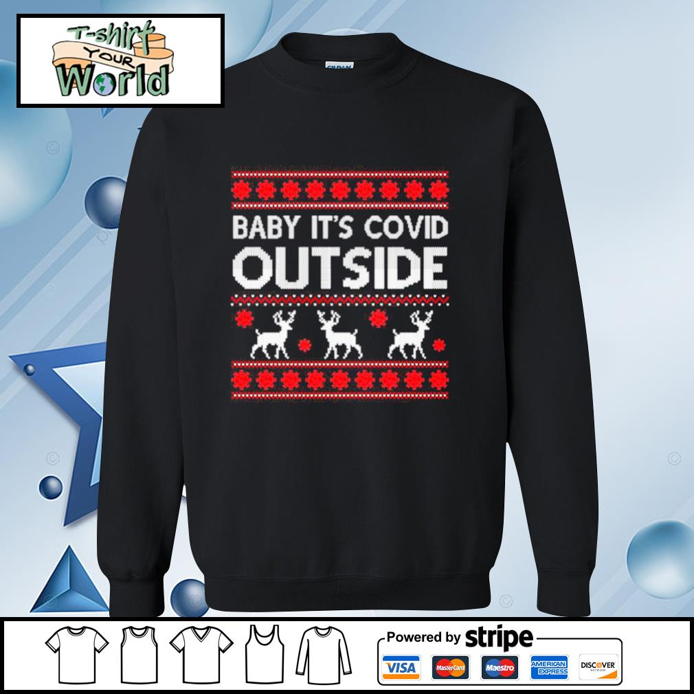 Baby It's Covid Outside Ugly T-Shirt – Christmas 2020 Ugly s sweater