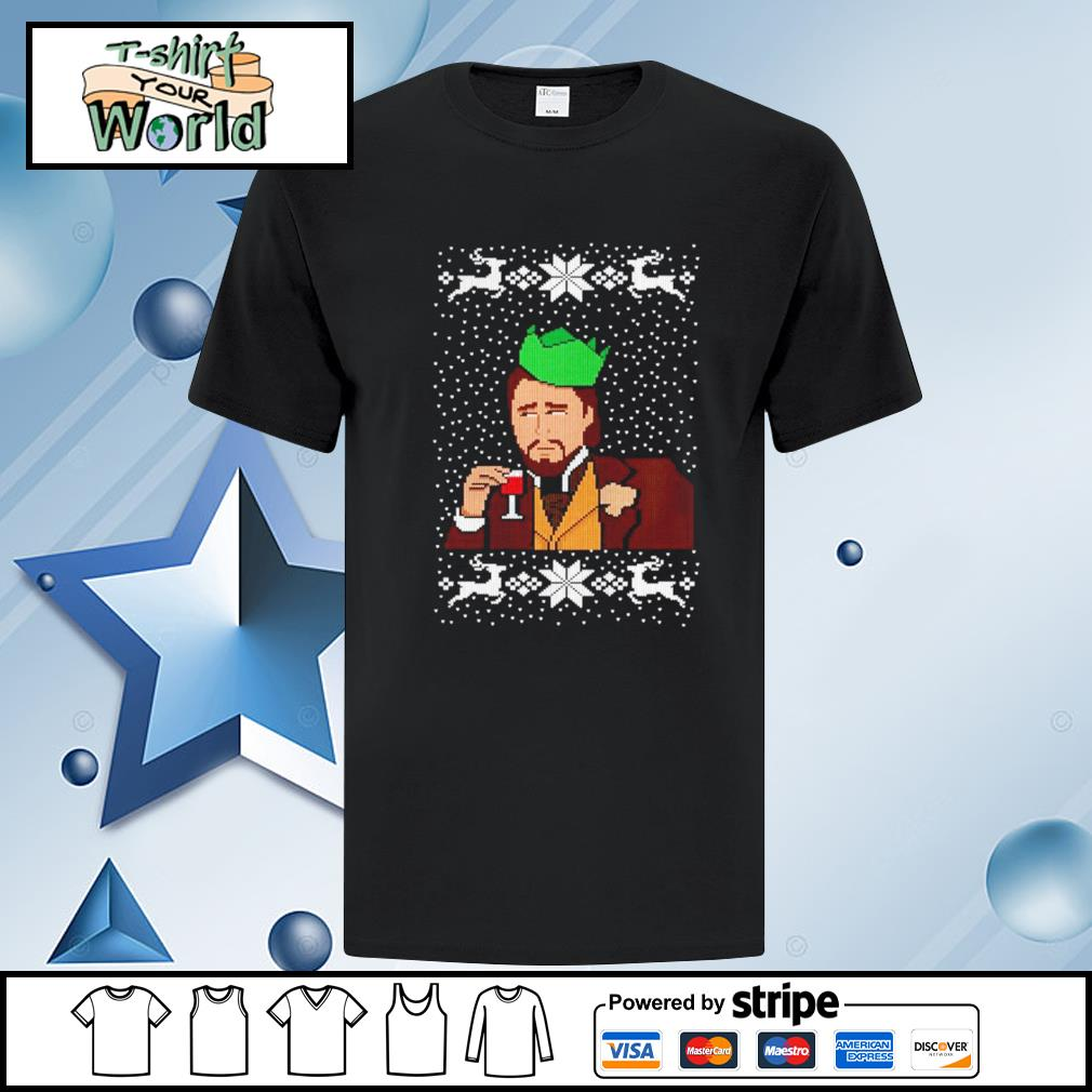 Calvin Candie Ugly Christmas shirt
