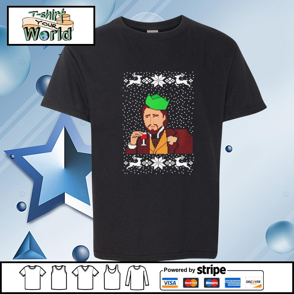 Calvin Candie Ugly Christmas s youth-tee