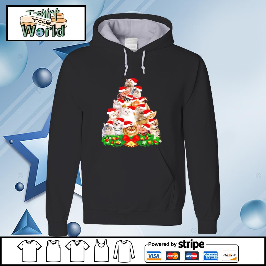 Cats And Christmas Tree s hoodie