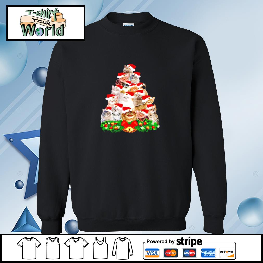 Cats And Christmas Tree s sweater
