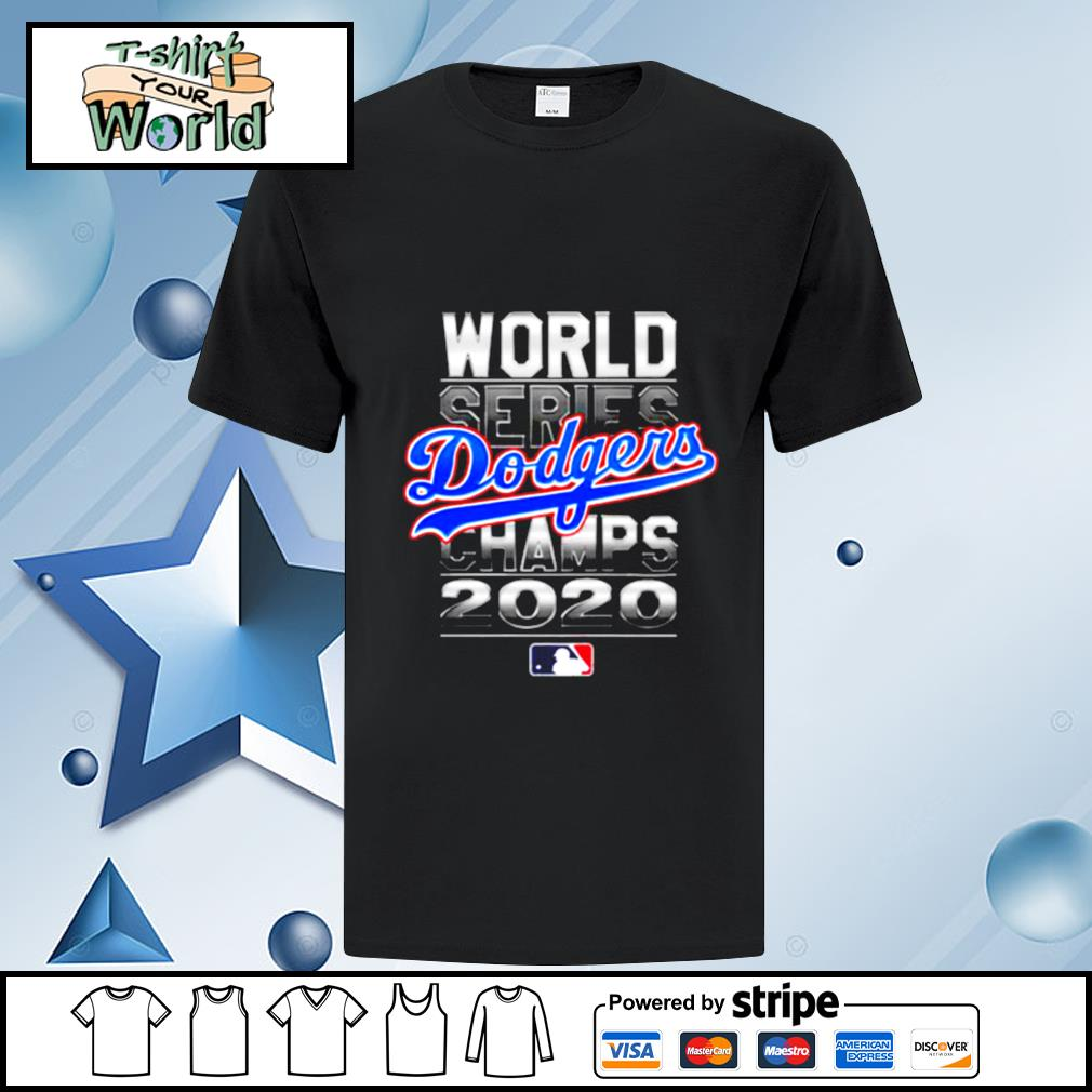 MLB World Series Los Angeles Dodgers Champs 2020 shirt