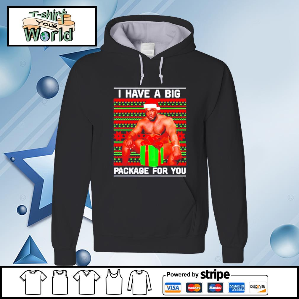 Barry Wood I have a big package for you Christmas s hoodie