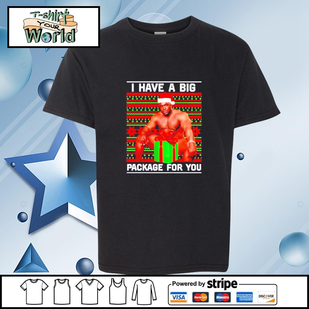 Barry Wood I have a big package for you Christmas s youth-tee