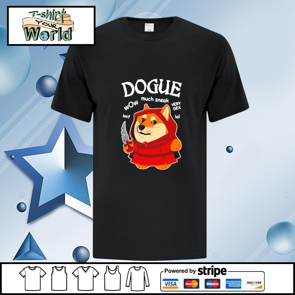 Dogue Wow Much Sneak Very Dex Knif Lol Corgi Shirt