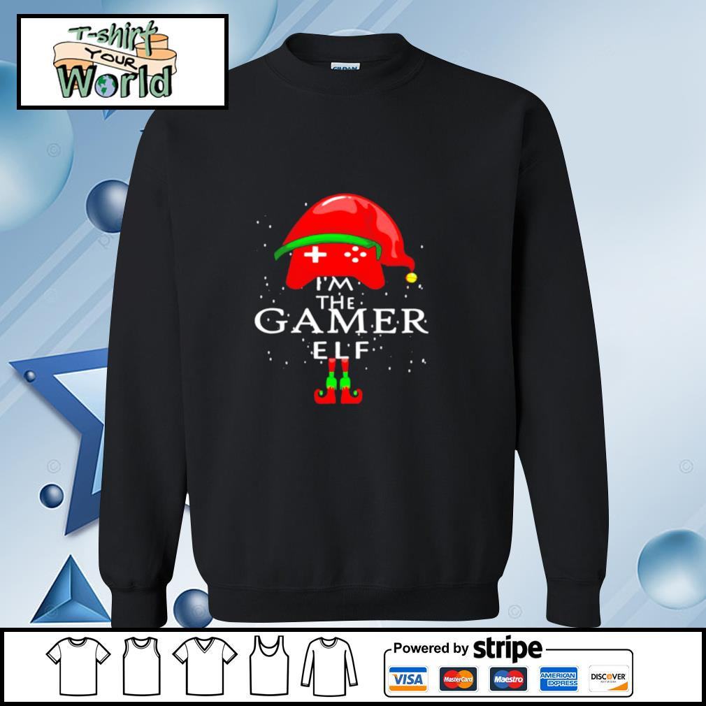 Im A Gamer Elf Matching Family Group Christmas s sweater