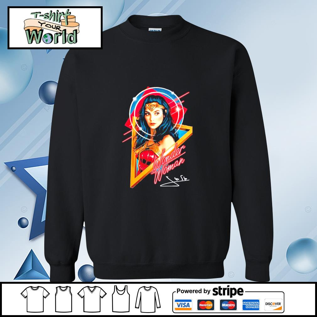 Official Wonder woman signature s sweater