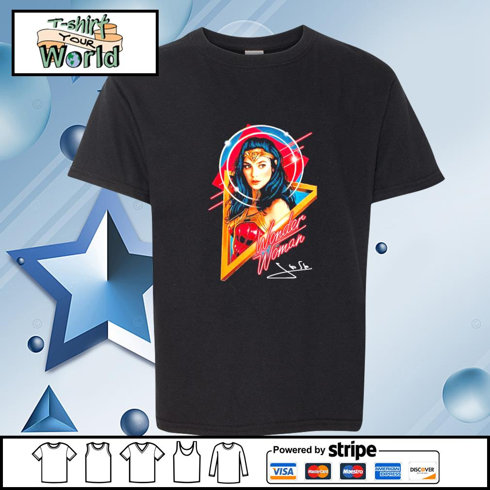 Official Wonder woman signature s youth-tee