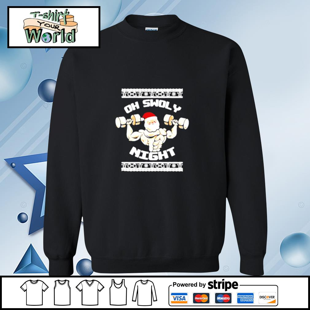 Oh Swoly Night Ugly Christmas Gym s sweater