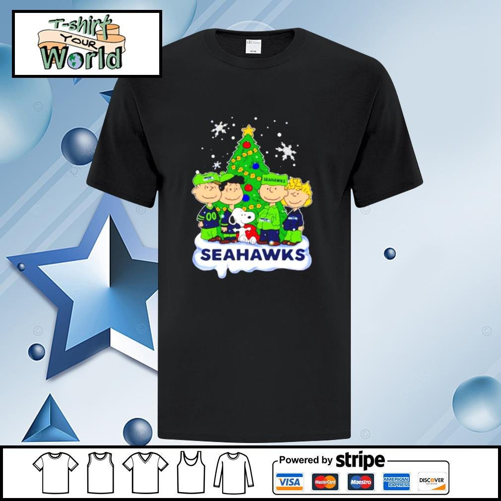 Snoopy The Peanuts Seattle Seahawks Christmas shirt